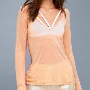 Freya Blush Pink Long Sleeve Top